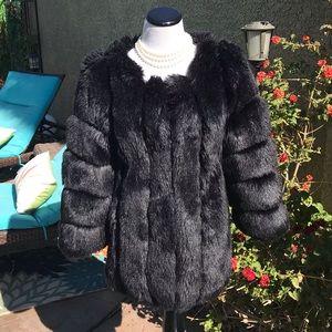 Jackets & Blazers - Ying JIA MEI  Faux fur & pleather Coat